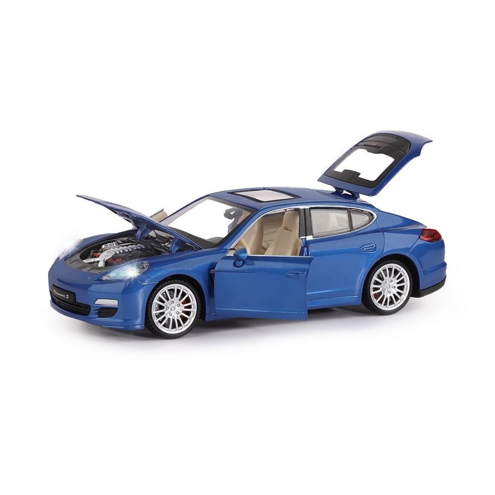 Машинка металл. 1:24 Bentley Continental Supersports ISR, белый